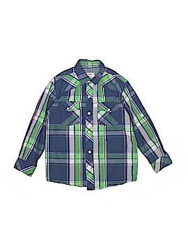 Pd&c Long Sleeve Button-Down Shirt Size X-Large (Kids)