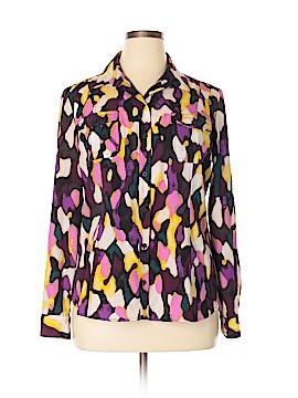 Dana Buchman Long Sleeve Blouse Size XL