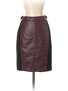Ann Taylor Faux Leather Skirt Size 0 (Petite)