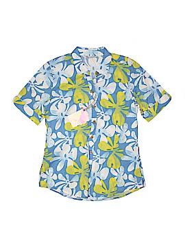 Margaritaville Short Sleeve Button-Down Shirt Size M