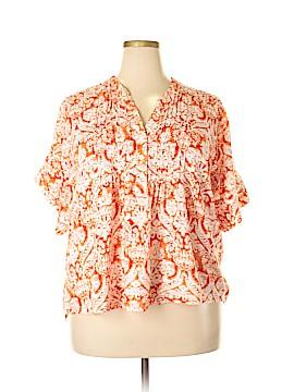 C.D. Daniels Short Sleeve Blouse Size 2X (Plus)