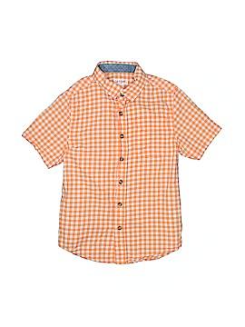 Cat & Jack Short Sleeve Button-Down Shirt Size 6