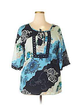 Denim 24/7 3/4 Sleeve Blouse Size 20 (Plus)
