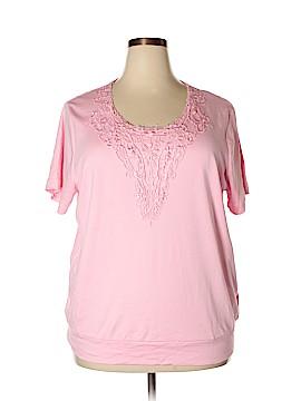 Vicki Wayne's Short Sleeve Top Size 2X (Plus)