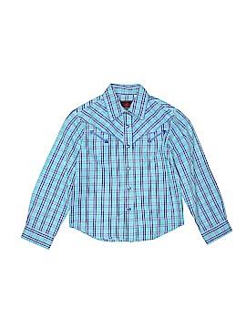 Roper Long Sleeve Button-Down Shirt Size 7 - 8