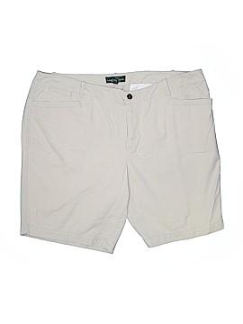 L-RL Lauren Active Ralph Lauren Khaki Shorts Size 18 (Plus)