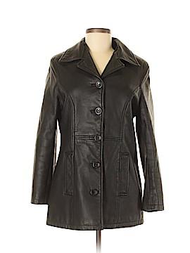 FRYE Leather Jacket Size M