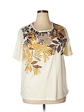 Liz & Me Short Sleeve T-Shirt Size 0X (Plus)