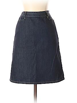 Ann Taylor Denim Skirt Size 2 (Petite)