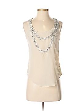 Love 21 Sleeveless Silk Top Size XS
