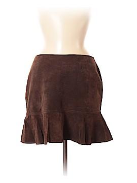 Moda International Leather Skirt Size 8