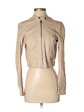 LC Lauren Conrad Faux Leather Jacket Size XS
