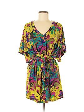The ZigZag Stripe Casual Dress Size M