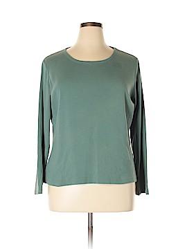 St. John's Bay Long Sleeve T-Shirt Size XL