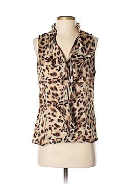 Sunny Leigh Sleeveless Blouse Size M (Petite)