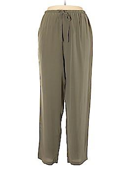Simply Silk Silk Pants Size XL
