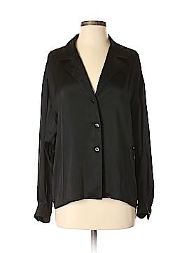 Chanel Long Sleeve Silk Top Size 36 (FR)