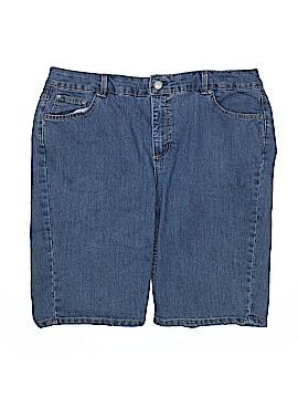 JMS Collection Denim Shorts Size 20 (Plus)