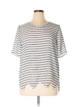 Pixley Short Sleeve Blouse Size XL