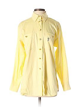 Escada Sport Long Sleeve Button-Down Shirt Size S