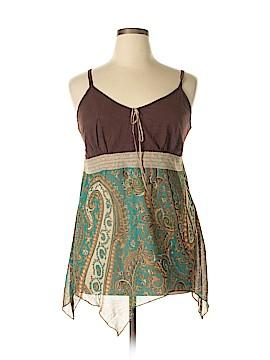 Fashion Bug Sleeveless Blouse Size 22 (Plus)