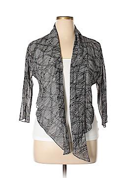Jones New York Collection Silk Cardigan Size 14