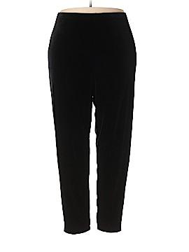 Denim Co Velour Pants Size 2X (Plus)