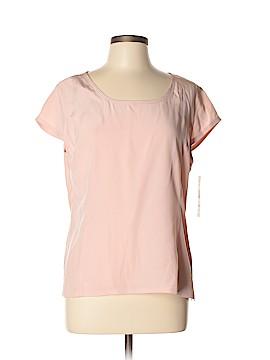 Jones Wear Short Sleeve Silk Top Size 14