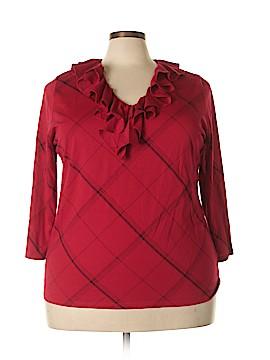 Ralph Lauren 3/4 Sleeve Top Size 3X (Plus)