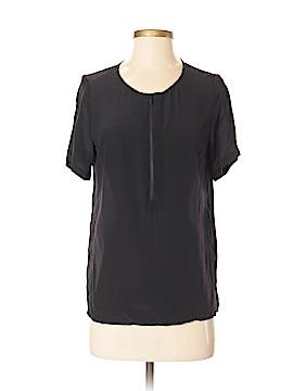 Comptoir des Cotonniers Short Sleeve Silk Top Size 36 (FR)