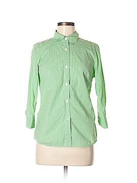 Gap 3/4 Sleeve Button-Down Shirt Size 8