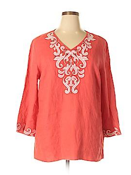 JM Collection 3/4 Sleeve Blouse Size XL