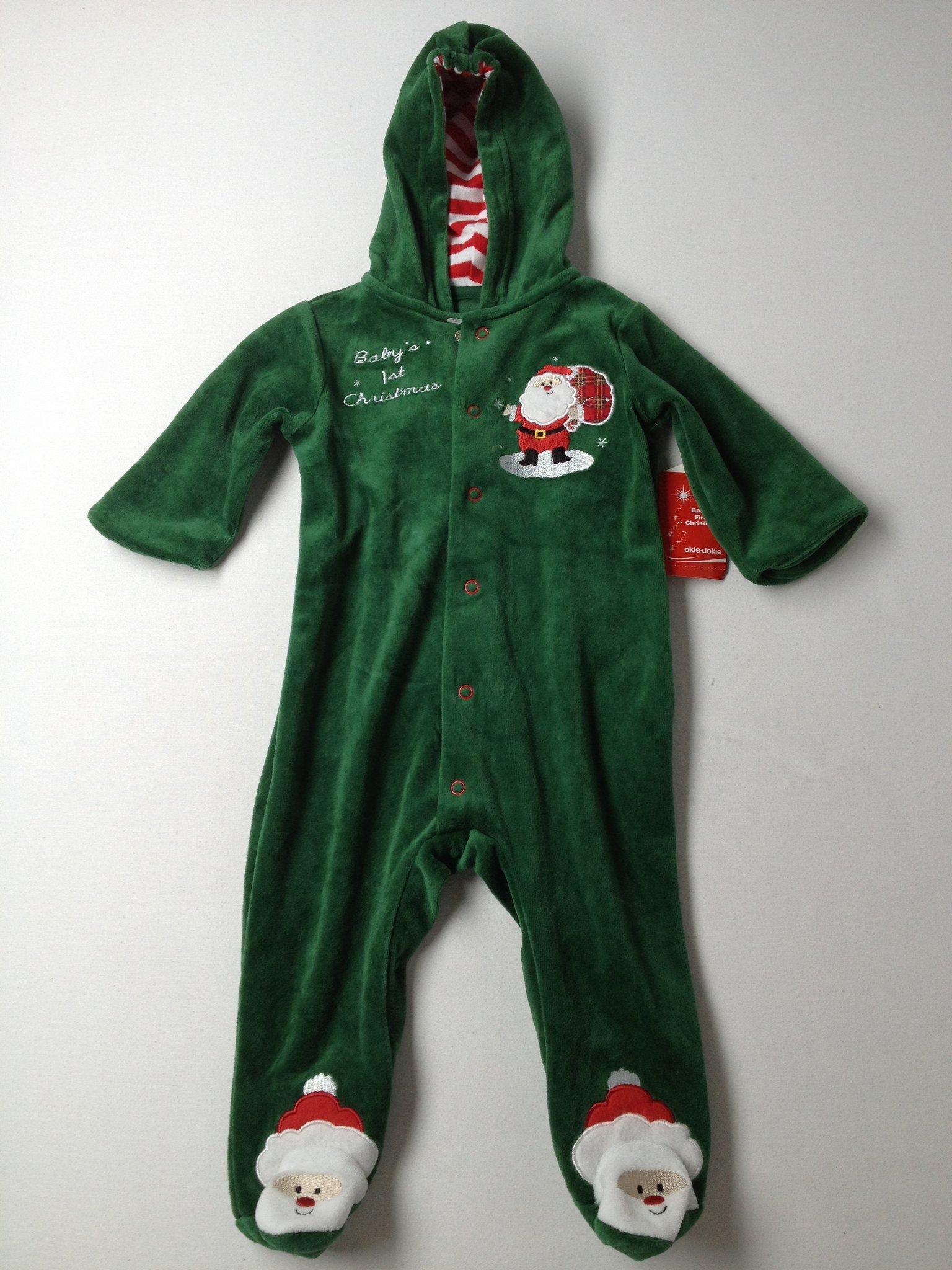 Okie Dokie e Piece Pajamas Size 6 mo off
