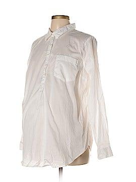 Old Navy Long Sleeve Blouse Size L (Maternity)