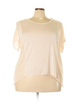 Katia Short Sleeve Top Size 2X (Plus)
