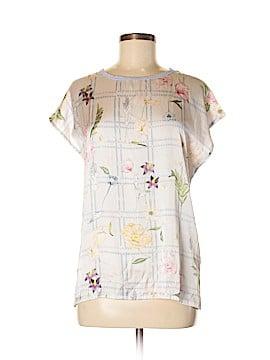 Zara Short Sleeve Blouse Size M