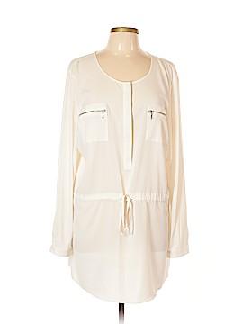 INC International Concepts Long Sleeve Blouse Size 16