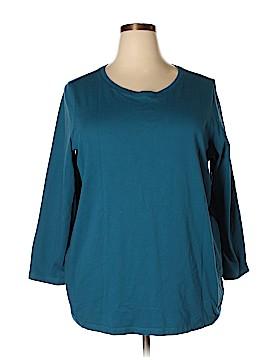Roaman's Long Sleeve T-Shirt Size 22 (1X) (Plus)