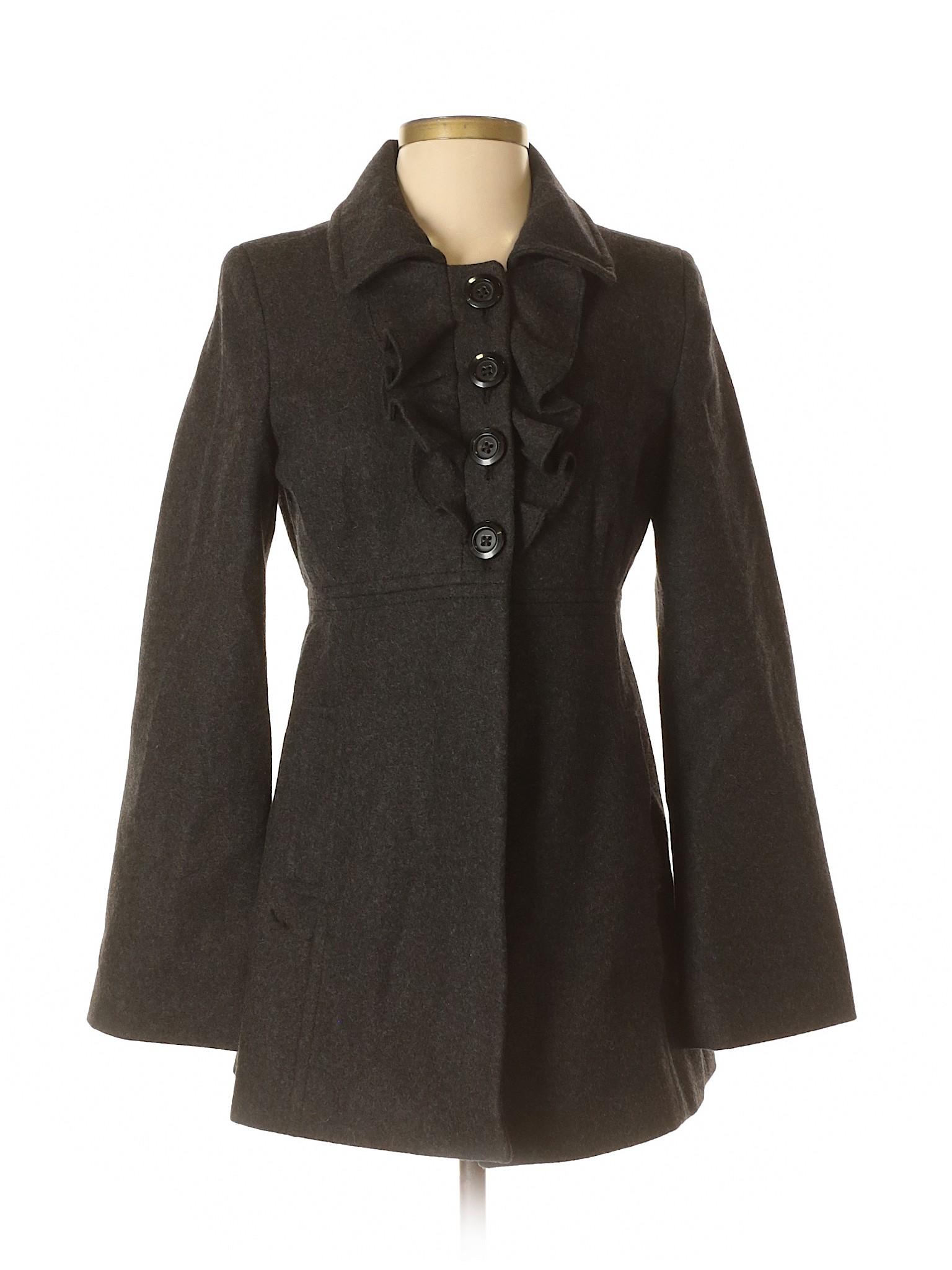 Boutique Coat Navy winter Old Wool z01zRFT