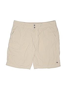 Columbia Khaki Shorts Size 14