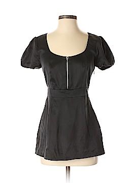 Walter Short Sleeve Silk Top Size 0