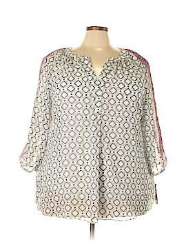Alyx 3/4 Sleeve Blouse Size 3X (Plus)