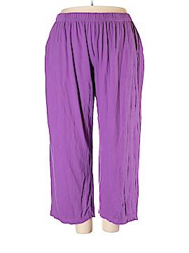 Roaman's Casual Pants Size 22 (Plus)