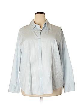 Lane Bryant Long Sleeve Button-Down Shirt Size 22 - 24 Plus (Plus)