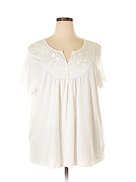 Carolyn Taylor Short Sleeve Top Size 3X (Plus)