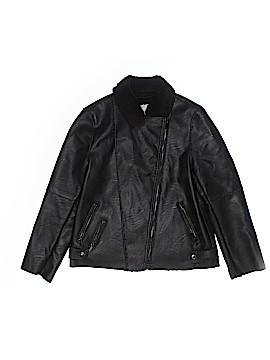 Zara Faux Leather Jacket Size 11 - 12