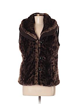 Montanaco Faux Fur Vest Size M