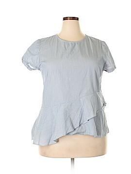 Alex Marie Short Sleeve Blouse Size XL