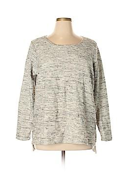 Per Se Sport Sweatshirt Size 1X (Plus)