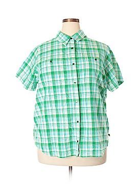 Route 66 Short Sleeve Button-Down Shirt Size 20 (Plus)